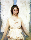 Abbott Handerson Thayer: Angel (1887)